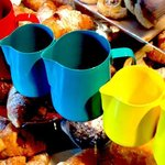 colorful jugs
