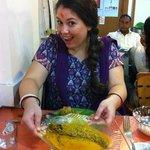 Bengali lunch with Walks of Kolkata team
