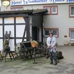 Vor der Wambacher Mühle