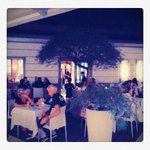 Vista del ristorante all'aperto