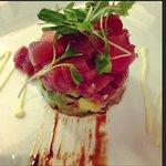 the tuna tartar