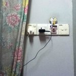 Few electric sucket to charge