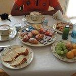 una delle mitiche colazioni!