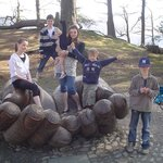 The Giant Hands - a great place to stop on your walk around Derwentwater