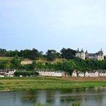 C'est parti le ballon s'élève doucement, on passe devant Amboise et son château.