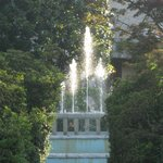 fountain in garden of Hotel la Fontana
