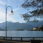 Isola Bella and Isola Pescatore from near Hotel la Fontana