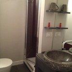 Clean shower/ toilet