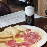 Cheese and ham...