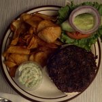 Buffalo Burger $13.50 Tax included