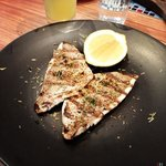 Grilled market fish.