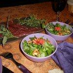 cena con degustazione prodotti