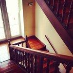 Escalier à l'ancienne