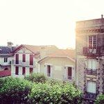 Biarritz au coucher du soleil