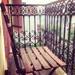 Petit balcon romantique