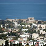 View of Kyrenia Castle from Onar Village