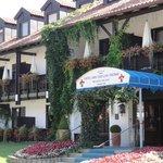 Ruhige saubere Hotelanlage