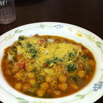 Chickpea curry: Bursting with flavor