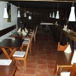 Upstairs dining tables