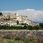 Grignan, looking towards the chateau