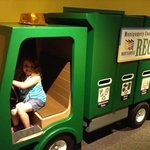 Off to the recycle center.