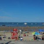 Front Street Beach - 2 secs away!