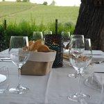 pranzo in giardino...