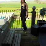 hot tub, balcony and views!