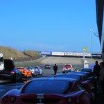 Some of the cars you can drive (Ferrari F430, Lamborghini Gallardo, Aston Martin V8)