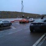 Some of the cars you can drive (Aston Martin V8, Lamborghini Gallardo, Ferrari F430)