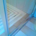 detail de la douche