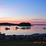 Sunset in Lubec