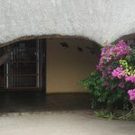 Entrance from rooms