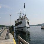 Mount Washington docking.