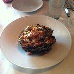 Baked artichoke appetizer
