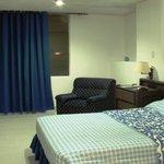 habitacion con aire remodelada