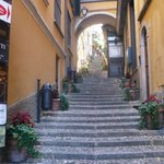 One of Bellagio's charming little alleyways