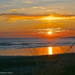 Sunrise through the Nantasket seagrass