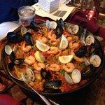 Paella at Barcelona...yummy!
