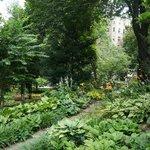 Beautiful park-like grounds