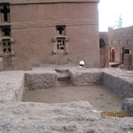 A church of the northern Lalibela group