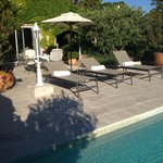 Our own terrace and pool