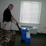 Steamcleaned after moveouts