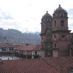 Cusco Plaza viewed from breakfast lounge