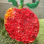 Bottle cap Apple