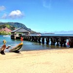Photo de Hanalei Beach
