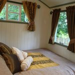 Woodland view bedroom