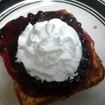 Stuffed Huckleberry French Toast