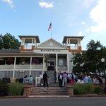 Chautauqua Dining Hall hosting a wedding reception