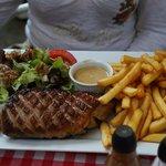 magret de canard frites